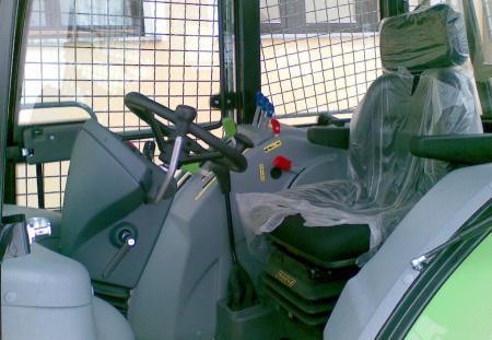 notranjost traktorja