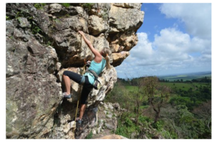 Prednosti športnega plezanja za otroke